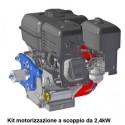 Kit motore a scoppio 2,4kW Crunchy