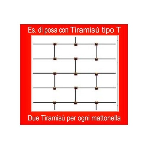 Brunoplast Tiramisù tipo T BRU163