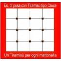 Brunoplast Tiramisù tipo croci BRU166