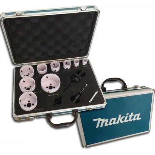 Kit 9 tazze bimetalliche Makita D-47282