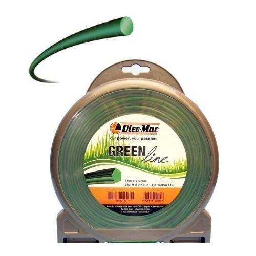 Filo tondo Greenline 2,4x87 Oleo-Mac