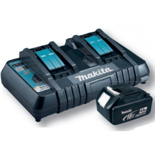 Caricabatterie 2 porte Makita DC18RD