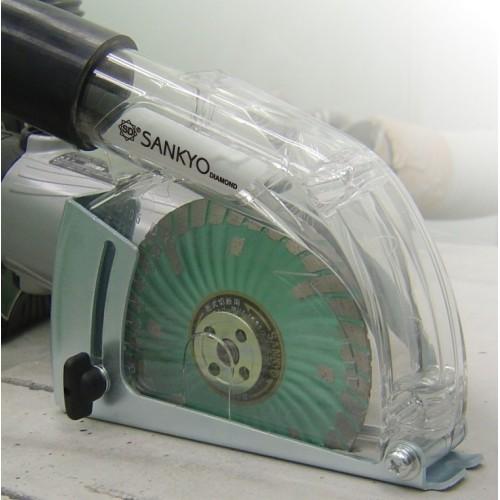 Cuffia aspirazione SANKYO AP125DC per smerigliatrici 115-125mm