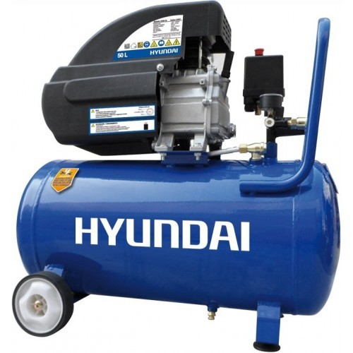 Compressore d'aria 50Lt HYUNDAI BDM50