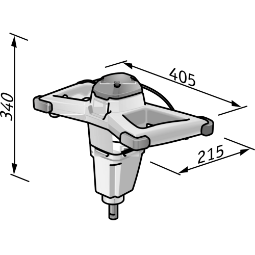 Miscelatore Flex MXE 1001