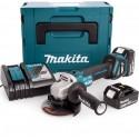 Smerigliatrice a batteria Makita DGA513ZJ