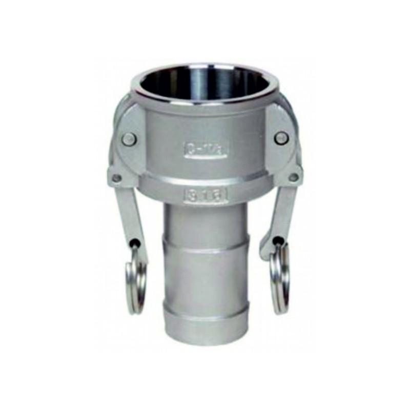 Raccordo F Camlock DN60 B76.5mm